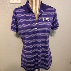 Nike TCU Golf shirt Texas Christian University